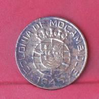 MOZAMBIQUE 1 ESCUDO  1945 -    KM# 74 - (Nº29277) - Mozambique