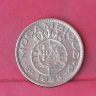MOZAMBIQUE 1 ESCUDO  1953 -    KM# 82 - (Nº29279) - Mozambique