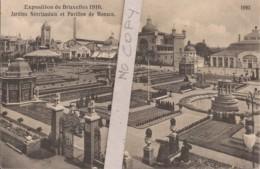 Exposition Bruxelles 1910 - Jardins Néerlandais Et Pavillon De Monaco - 1093 - Expositions