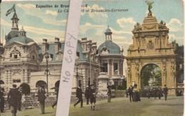 Exposition Bruxelles 1910 - Le Chien Vert Et Bruxelles Kermesse - Exhibitions