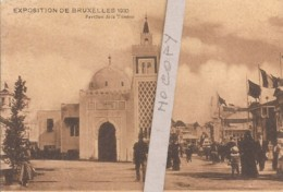 Exposition Bruxelles 1910 - Pavillon De La Tunisie - Exhibitions