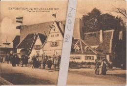 Exposition Bruxelles 1910 - Vue Sur Alt-Dusseldorf - Expositions