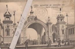 Exposition De Charleroi 1911 - Façade Principale - Expositions