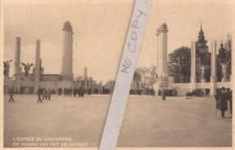 L'entrée Du Centenaire (Exposition Bruxelles 1935) - Exhibitions