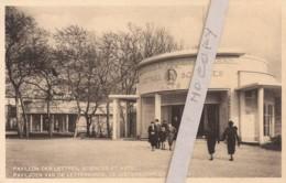 Pavillon Des Lettres Sciences Et Arts (Exposition Bruxelles 1935) - Expositions