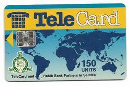 PAKISTAN USED CHIP PHONECARD 150  UNITS - Pakistan