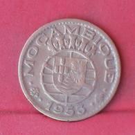 MOZAMBIQUE 1 ESCUDO  1953 -    KM# 82 - (Nº29282) - Mozambique