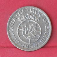 MOZAMBIQUE 1 ESCUDO  1950 -    KM# 77 - (Nº29284) - Mozambique
