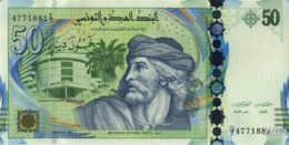 Tunisie 50 Dinars (P94) 2011 (Préf: G/7) -UNC- - Tunisie