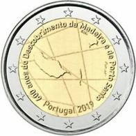 Portugal 2019   2 Euro Comm. Madeira     UNC Uit De Rol  UNC Du Rouleaux  !! - Portugal