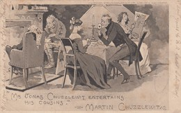 """PLAYING CARDS: """"Mr Jonas Chuzzlewit Entertains His Cousins"""" , 00-10s - Cartes à Jouer"""