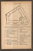 CARTE PLAN PARIS 1924 - MUSEE GUIMET ROTONDE D'ENTREE BIBLIOTHEQUE ARCHEOLOGIE INDOCHINOISE - Topographische Kaarten