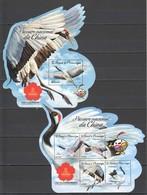 ST1602 2016 S. TOME E PRINCIPE FAUNA NATIONAL BIRDS OF CHINA 1KB+1BL MNH - Otros