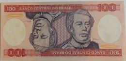 Billet Du Brésil 100 Cruzeiros 1984 Pick 198 Neuf/UNC - Brazil