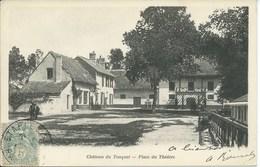 Le Touquet - Paris Plage - Chateau - Place Du Théâtre ( Carte Précurseur ) - Le Touquet