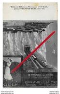 LE TREPORT   Carte Publicitaire   (recto-verso) - Le Treport