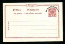 """10 Pf. Ganzsache """"Marine-Schiffsposten"""" - Ungebraucht - Maritime"""