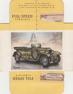 FULL SPEED VIRGINIA Nr 46, Metallurgique 1925 ( Belgie ) - Cigarette Cards
