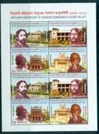 Bangladesh 2011 Rabindranath Tagore Sheetlet MUH Lot82943 - Bangladesh