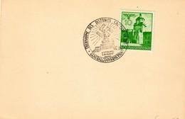 Generalgouvernement GG: Blanko Karte Mit Sonderstempel Zur Übernahme Des Distrikts Galizien - Occupation 1938-45
