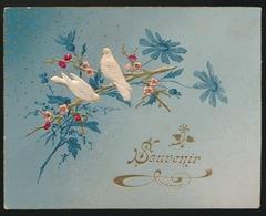 OUD KAARTJE  ( KARTON ) 11.5 X 9 CM    RELIEF - Cartes Postales