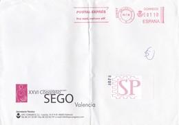 España 2000 XXVI Congreso SEGO  Sociedad Española De Ginecología Obstetric Valencia Gynecology Red Meter Gynécologie - Publicidad