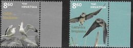 CROATIA , 2019, MNH,EUROPA, BIRDS, SEAGULLS, SWALLOWS,2v - 2019