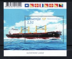 3333 Slowenien Slovenia Slovenie 2019 ** MNH Block Schiffe Cargo Vessel Ship Portoroz - Slowenien