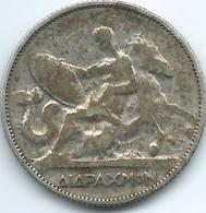 Greece - George I - 1911 - 2 Drachmai - KM61 - Grèce