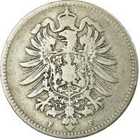 Monnaie, GERMANY - EMPIRE, Wilhelm I, Mark, 1874, Stuttgart, TB, Argent, KM:7 - 1 Mark