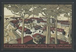 +++ CPA - Allemagne - GLADBACH - Zanders Papier Fabrik Berg - Illustrateur ?   // - Grimbergen