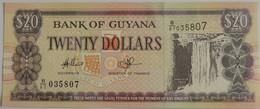 Billet Bank Of Guyana 20 Dollars 1996 Pick 30 Neuf/UNC - Guyana