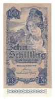 Austria 10 Schillings 1945 2nd.emission - Austria