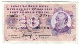 Switzerland 10 Francs 07/03/1973 - Svizzera