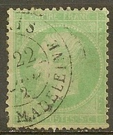 Yvert - N° 20e - Cote 15 € - 1862 Napoléon III