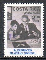 COSTA RICA. PA 496 De 1970 Oblitéré. Exposition Philatélique. - Philatelic Exhibitions