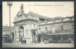 +++ CPA -  BRUXELLES - BRUSSEL - IXELLES - ELSENE - Le Marché - Market  // - Markten