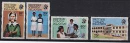 British Virgin Islands 1983 Queen Elizabeth Set Of Stamps Celebrating Nursing Week. - British Virgin Islands