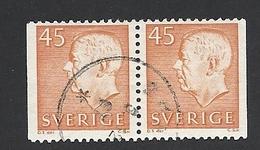 Schweden, 1964, Michel-Nr. 523 D/D, Gestempelt - Usati