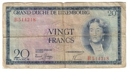 Luxembourg 20 Francs 1955 - Luxembourg
