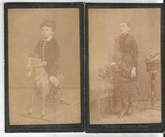 Croatia Dubrovnik/Ragusa  1870 2 X CDV Cabinet Ptoho By Silvino Mascarich - Croatia