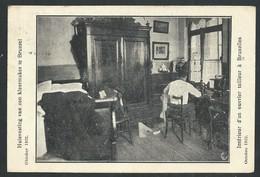 +++ CPA - BRUSSEL - BRUXELLES - Métier - Intérieur D'un Ouvrier Tailleur - Propagande - Politique - 1922  // - Ambachten