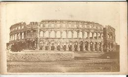 Croatia Pola/Pula Arena CDV By L.Mioni 1st.Photo Studio In Pula Open 1862 - Croatia