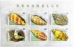 Dominica 2009**Mi.3961-66 Seashells , MNH [6;13] - Muscheln