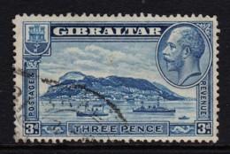 Gibraltar 1933 3d Rock Of Gibraltar Used  SG 113 - Gibraltar