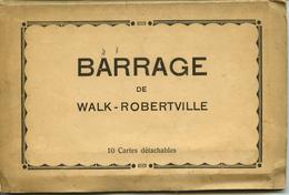 Carnet De 10 Vues Du Barrage De WALK ROBERTVILLE - Malmedy