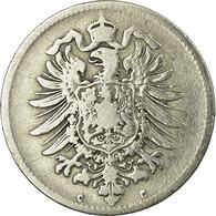 Monnaie, GERMANY - EMPIRE, Wilhelm I, Mark, 1875, Frankfurt, TB, Argent, KM:7 - 1 Mark