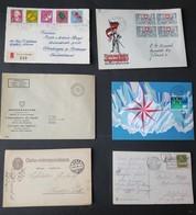 SCHWEIZ, Ca. 1900-1980: Umfangreiches Lot Von Ca. 800 Bis 850 Briefen Und Karten, Teils Bessere Stücke - Timbres