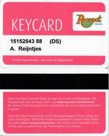 Keycard Roompot Vakanties--2002-Netherlands---Hotel--key Card, Room Key, Schlusselkarte, Hotelkart - Hotel Keycards
