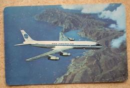 1 Calendrier De Poche (aviation) PAN AMERICAN 1960 - Calendarios